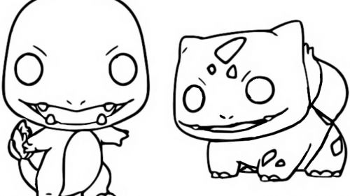 Charmander & Bulbasaur - Funko Pop Pokémon